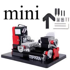 DIY Mini Metall Motorisierte Drehmaschine Maschine Holzbearbeitung Power Tool