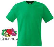 Fruit of the Loom Lady Green Tshirt - size Small - V5
