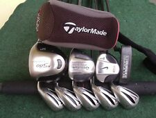 TaylorMade Nike Irons Driver Wood Hybrid Complete Golf Club Set Mens RH Set