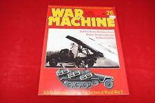 (BS) Military Book / Magazine: War Machine #76 War Rockets of WWII