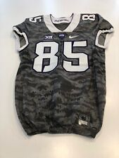Game Worn Used Nike TCU Horned Frogs Football Jersey Size 40 #85
