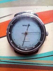Vintage russian  watch raketa