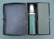 1900S RARE EARLY AMERCAN THERMOS MARK LUNCH BOX WITH BOTTLE METAL CONTAINER