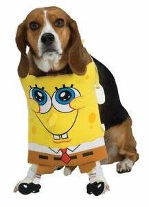Spongebob Squarepants Dog Costume - LARGE - Chestpiece - Halloween - Rubie's NWT
