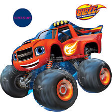 Blaze And The Monster Machines Party Supplies SUPER SHAPE FOIL BALLOON