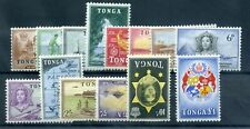 Tonga 1953 defin set mint . those inv are MLH others MNH