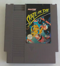 Skate or die. Juego para consola Nintendo Nes. Pal B