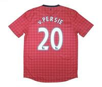 Manchester United 2012-13 Authentic Home Shirt V.Persie #20 (Excellent) L