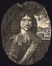 Antique Print-UNKNOWN PORTRAIT 5-c. 1680