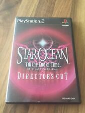 "PS2:    STAR OCEAN ""Till The End of Time""  DIRECTOR'S CUT       JAPAN"