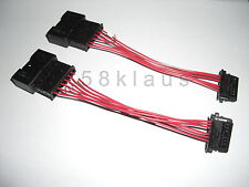 BMW E46 3er Coupe Cabrio LED rear lights tail lights adapter cable set harness