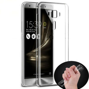 Ultra Thin TPU Clear Back Case Cover For Asus Zenfone 3 Max ZE520KL ZE552KL