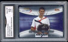 2008 Noval Djokovic Ace Authentic US Open Memorie  Rookie Gem Mint 10 #USOM17