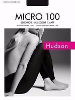 Hudson Micro 100 von Kunert hochwertige Leggings Anthrazit Braun Blickdicht Matt