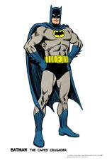1966 BATMAN Pin Up PRINT DC Bruce Wayne