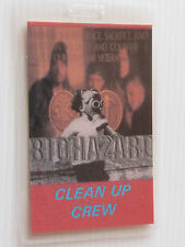 BIOHAZARD - Laminated 'Clean Up Crew' Backstage Pass - Unknown Tour