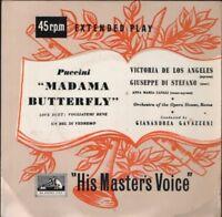 """VICTORIA DE LOS ANGELES puccini madama butterfly 7"""" PS EX/EX"""