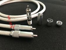 Hi-End Oyaide AR-910 5N pure silver Interconnect RCA-RCA Audio cable