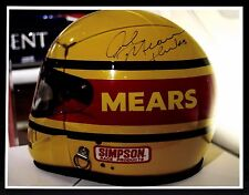 Rick Mears  Autogrammkarte Original Signiert Motorsport +G 15890