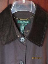 **SALE** NWT $199 Ralph Lauren Estate Coat Jacket Brown Plaid Int 1x 16w 18w XL
