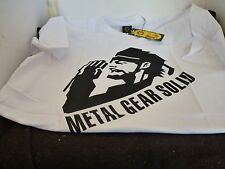 XL & L 100% COTTON METAL GEAR SOLID T SHIRT