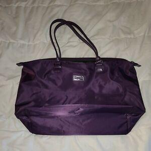 Lipault Paris Plume Purple Tote Bag