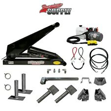 8 Ton 16000 Lb Dump Trailer Hydraulic Scissor Hoist Kit Ph516 Power Hoist