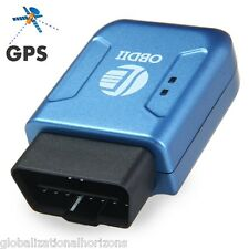 TK206 OBDII GSM GPS GPRS Real Time Tracker Personal Car Vehicle Tracking Device