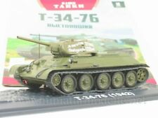 1:43 T 34-76 sowjetischer Panzer Modimio 10 Soviet Tank WWII Militär Russian OVP