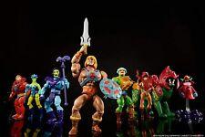 ORIGINS 2020 MATTEL Masters of the Universe MOTU He Man + Skeletor + Battle Cat
