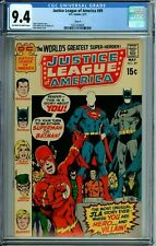 JUSTICE LEAGUE OF AMERICA 89 CGC 9.4 CIRCLE 8 PEDIGREE NEAL ADAMS COVER DC 1971
