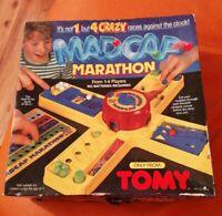 VINTAGE TOMY MADCAP MARATHON 4 CRAZY RACES AGAINST THE CLOCK COMPLETE RARE GAME