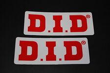 +033 DID D.I.D chaîne CHAIN pignon autocollant sticker décalque Autocollant technique