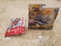 Transformers Movie 6 Bumblebee Energon Igniters Power Basic Megatron & Windblade