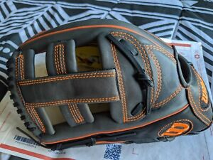 "Wilson 6-4-3 13"" Slowpitch Softball Baseball Glove LHT A12LS15 SP13 New Leather"