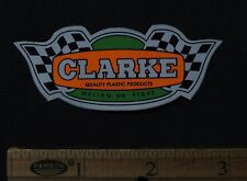 CLARKE GAS TANKS Vintage Motocross Enduro STICKER Honda Yamaha Suzuki Kawasaki
