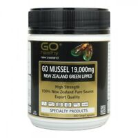 Go Healthy GO Mussel 19,000 Capsules 300- New Zealand Green Lipped Mussel