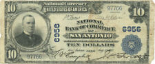 1902 $10 Plain Back National Bank of Commerce San Antonio, TX Ch #6956
