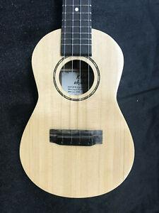 Kelali Concert ukulele with Koa and Spruce, hand made in USA