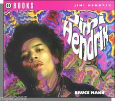 Jimi Hendrix - 1994 Cd Sized Book & Discography by Bruce Mann, Loads of Pictures