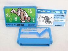 DONKEY KONG JR MATH SANSU ASOBI Arithmetic Item REF/bcc Famicom Nintendo JP fc
