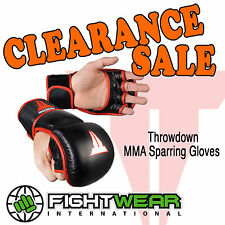 Throwdown Sparring MMA Gloves