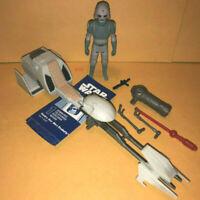 STAR WARS Rebels Imperial SPEEDER BIKE w AT-DP pilot figure biker scout toy