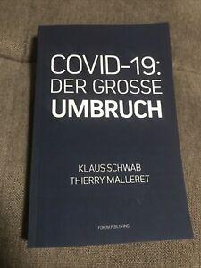 DER GROSSE UMBRUCH - the Great Reset Von Klaus Schwab Buch Deutsch Lektüre