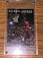 """Michael Jordan 1992 SKYBOX USA """"NBA ROOKIE"""" Card 38 Chicago Bulls RARE"""