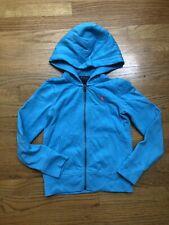Ralph Lauren Sweatshirt Hoodie Blue Girls Size 7  Zip Up