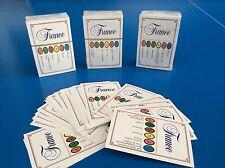 TRIVIAL PURSUIT Lot de 50 Cartes Jeu Edition FRANCE 300 Questions Recharge ! FR
