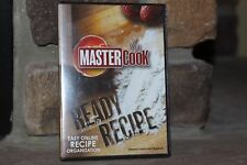 MASTERCOOK READY RECIPE EASY ONLINE RECIPE ORGANIZATION Platform Windows XP ETC.