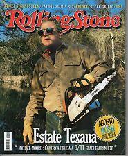 Rivista ROLLING STONE ANNO 2004 NUMERO 10 - GEORGE BUSH - BRUCE SPRINGSTEEN