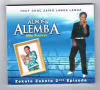 ♫ - ADIOS ALEMBA - MILLE SOURIRES - CD 7 TITRES - NEUF NEW NEU - ♫